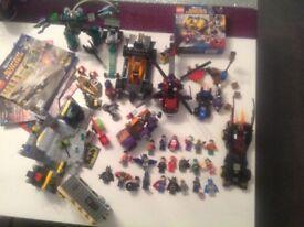 Massive collection of super hero Lego, inc 22 figures