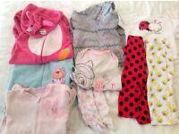 Girls 12-18 months pyjama bundle