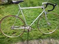 Vintage Alan aluminium bicycle. Nice appointments.