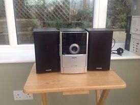 Micro Hi-Fi stereo and radio