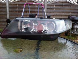 Honda Accord MK7 Xenon Headlamp N/S Passenger side Genuine