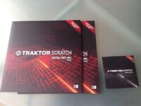 TRAKTOR mk2 control vinyl and CDs(brand new) lot 1