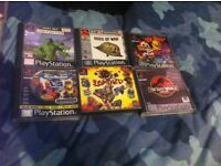 Play station 1 games