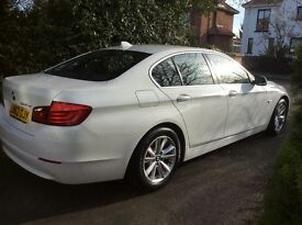 White BMW 520d 2013 Manual Efficient Dynamics For sale