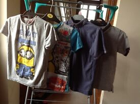 13 items of boys clothing age 6-7