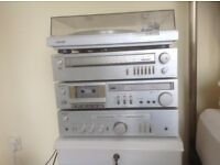 Sony Stereo stacking system.