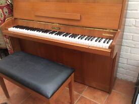 Kemble Piano with stool