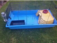 Lovely rabbit cage and accessories, just add bunny!