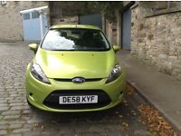 VERY ECONOMICAL NEW SHAPE FORD FIESTA DIESEL ONLY 50000 MILES £20 YEAR ROAD TAX - UP TO 80MPG!!