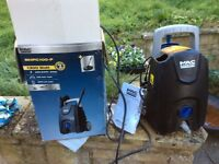 Power washer, MacAllister B&Q's own brand. Boxed with all accessories.
