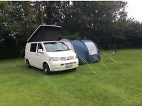 VW T5 Transport Camper - Low Mileage - Pop Up Roof - DVD