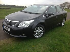 Toyota Avensis 2.0 D-4D TR 4dr Man 2011 (11 Reg) PCO Taxi Badge to 15 Jan 18 Price £4,450