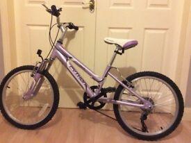 Lilac Python Rock Girls Bike