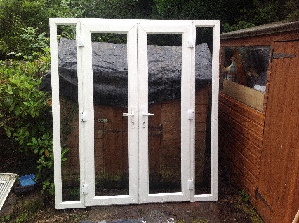 2 Double Glazed Patio Doors For Sale In Blaby Leicestershire