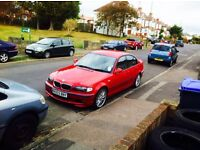 2003 M Sport 325i Spares or Repair Mot Aug 2017 £750 ovno sequential gearbox
