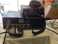 Two FM CB Home Base Radios