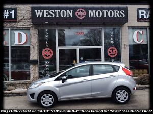 2013 Ford Fiesta SE *AUTO *PWR GRP *HEATED SEATS *BLUETOOTH *SYN