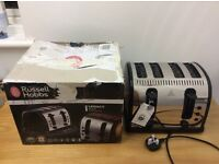 Russell Hobbs 21303 Legacy 4 Slice Toaster - Black