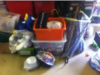 Large collection car boot goods