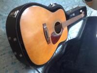 Vintage 1972 Yamaha FG200 guitar Made in Taiwan