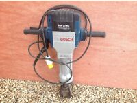 Nearly new Bosch concrete breaker for sale
