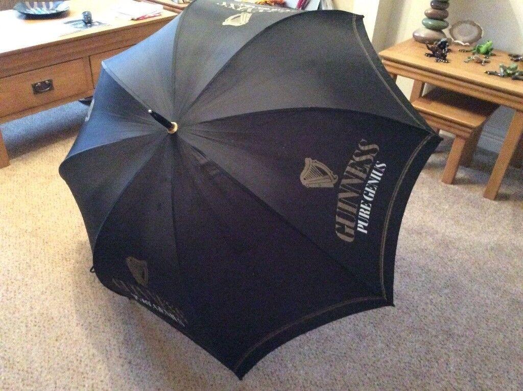 Guiness brand Golf Umbrella