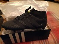 Black prime knit 16.1 football boots