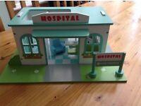 Le Toy Van Wooden Hospital Playset