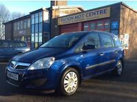 2008 VAUXHALL ZAFIRA 1.6 LIFE +QUALITY 7 SEATER +FULL MOT + EXCELLENT VALUE