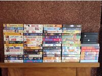 VHS VIDEOS - bundle of over 60 VHS video tapes