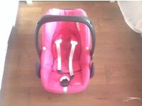 0-9 months maxi cosy pebble pink