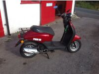 New Sinnis Flair 49cc Four Stroke Scooter