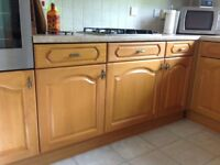 Oak Kitchen Units
