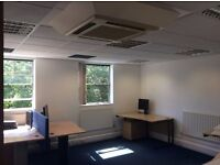 OPEN PLAN OFFICE SPACE WITH 8 - 10 DESK & KITCHEN IN WORCESTER PARK CALL 07868460133, 0208 961 1415