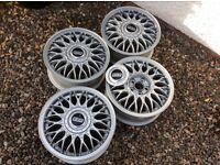 BBS 15 inch cross spoke alloy wheels (4)