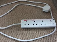 Surge protect 2 m Extension lead