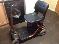 LIGHTWAY ELEGANCE LARGE CAR BOOT MOBILITY SCOOTER , CARRIES 21 STONE