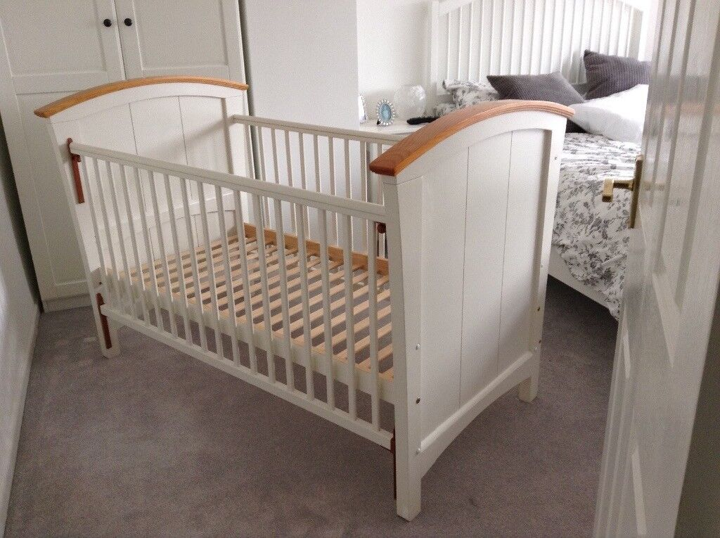 Cosatto solid wood cot