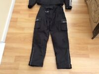 Llyod cooper Water proof motorbike trousers like new