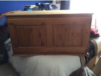 Ducal Victoria Pine Wardrobe Top Box in good used condition.