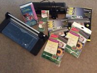 A4 Paper Trimmer, A4 Laminator and Laminating Pouches