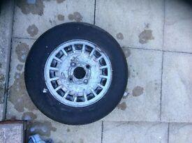 Ford Fiesta Mk1 Ghia Alloy Wheel