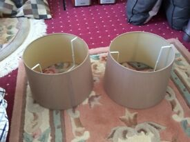 2 brand new lamps shades