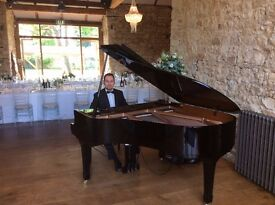 Pianist for weddings and events