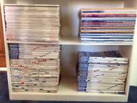 Yachting magazines (125 in total) from 1983-2014 yachting monthly, practical boatowner, sailing toda