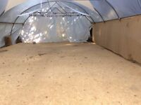 approx 160 square meters of OSB ( sheets 8'x4'). used as a floor for one event.