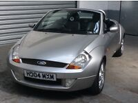 FORD STREETKA LUXURY 2004 SILVER WITH FULL BLACK LEATHER ONLY 37,000 MILES HEATED SEATS AIR CON