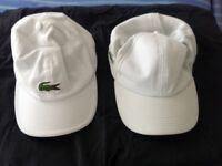 Lacoste Summer Hats - excellent condition