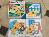 Spots first jigsaw puzzles, 3 in the box