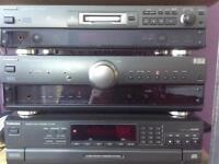 Technics SU-A707 stereo integrated amplifier